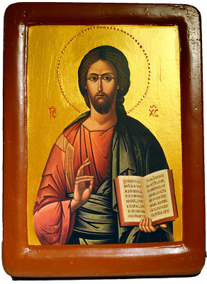 "Icon ""Christ Pantocrator"" by  iconographer Juvenal Mokritsky"