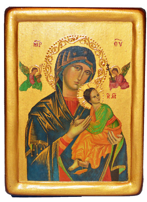"Icon ""Our Lady of Perpetual Help"" Rome, (XV cent.)"