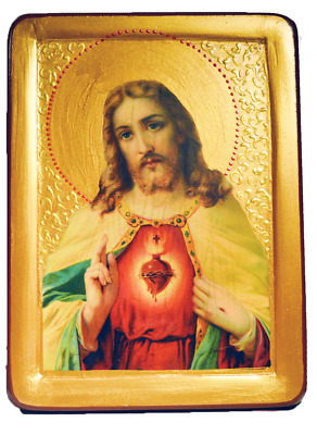 "Icon ""Sacred Heart of Jesus"""