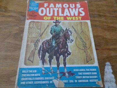 Famous Outlaws of the West Magazine - Circa 1964 - See Pictures
