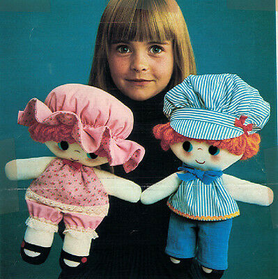 Two of a Kind Ragdoll Doll Pattern - 0036