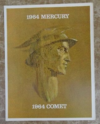 1964 MERCURY + COMET Automobile Sales Brochure - Original New Old Stock