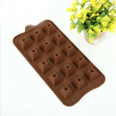 Silicone 3D Pyramid Shape Mousse Fondant Pastry Cake Mold Chocolate Mould Tools