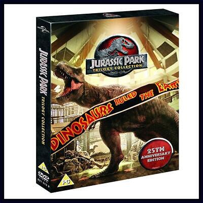 Jurassic Park: Trilogy Collection - DVD Region 2 Free Shipping!