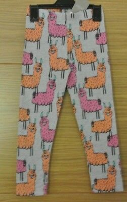 New Next baby girl leggings Grey/multi 12-18 months