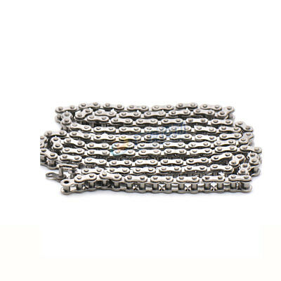 """304 Stainless Steel #25  04C-1 Pitch 1/4"""" 6.35mm Roller Chain * 1/1.5/5 Meters"""