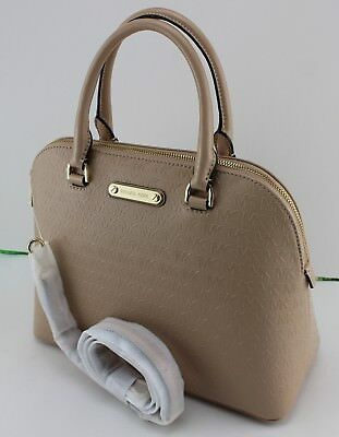 f1357312fc59bb New Authentic Michael Kors Cindy Oyster Handbag Lg Large Dome Satchel Womens