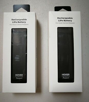 2 Pcs OEM Hover Drone Camera Battery 7.6v 1360 mAh Rechargeable Lipo pack