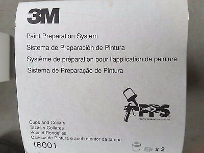 3M Pps Cups And Collars  (2 Per Pkg)