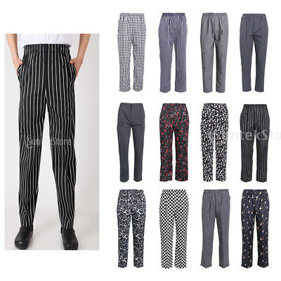 Chef Pants Hotel Working Pants Waiter Overalls Uniforms Pants Cooking Pants