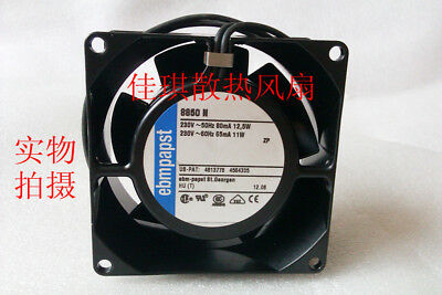 for Ebmpapst 8038 230V 8850 N full iron high temperature cooling fan