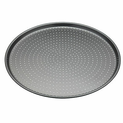 Master Class Crusty Bake Non-Stick Pizza Tray 32cm - Stainless Steel Pizza Tray