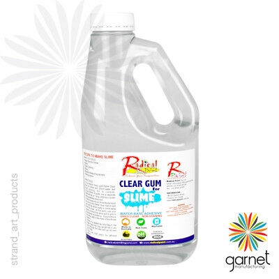 1L Radical Clear Gum Glue – includes recipe to make Slime