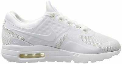 aecad294d7 Nike AIR MAX ZERO ESSENTIAL MENS 13 running-shoes 876070-100 WHITE WHITE  WOLF