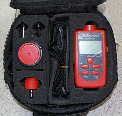Snap On Digital Contact/Non-Contact Laser Tachometer - model. EEDMTACH1