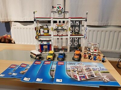 Lego City 4207 Garage 100 Complete With Instructions 7499