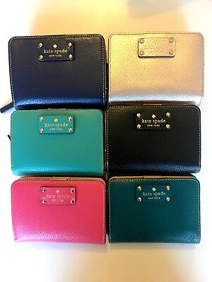 NWT Kate Spade Wellesley Cara Wallet Zip Small Stacy Coin Purse WLRU1745 Gift