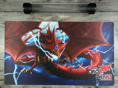 Slifer the Sky Dragon YuGiOh Custom TCG CCG OCG Duel Mat Playmat Free Best Tube