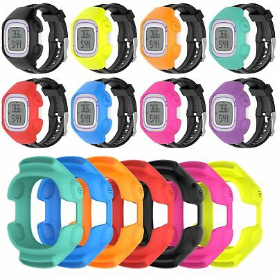 Silicone Case Cover Skin Shell Protector For Garmin Forerunner 10 15 GPS Watch