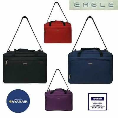 Ryanair 55 x 40 x 20 cm Cabin Approved Carry On Hand Luggage Flight Holdall Bag