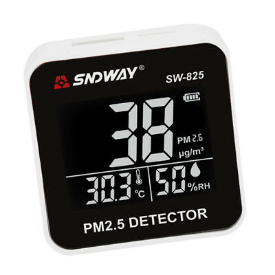 Handy PM2.5 Detector Haze/Dust Air Quality Meter LCD Display Screen Tester