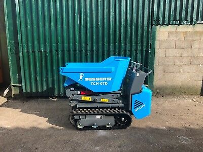 New Messersi TCH07D 500kg Tracked High Tip Dumpers - Track Crawler Barrow