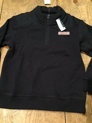 Vineyard Vines Shep Shirt, NWT - Youth Small (8-10) - Navy Blue Boys Girls