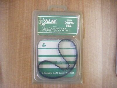 BD003 Drive Belt To fit Black & Decker Lawnmowers and Rakers GD310/ MAC35 etc
