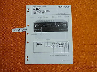 SCHALTPLAN SERVICE Manual Kenwood KAC644 Autoverstärker Car Power ...