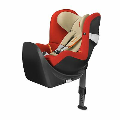 CYBEX Sirona M2 I-Size incl. Base M Car Seat Autumn Gold - Burnt Red Group 0+/1