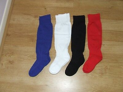 KIDS FOOTBALL SOCKS. BY CHABLAIS SPORT. AT KIDS CASUALS. Shoe size C9-12 up.