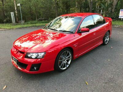 2005 Holden Special Vehicles Clubsport Z Series R8 Sting Red Manual 6sp M Sedan