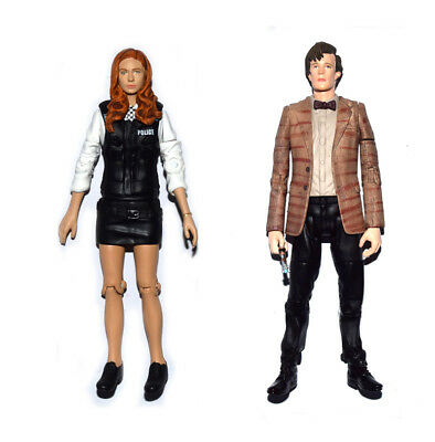 Dr. Doctor Who Amy Pond Police Uniform & Matt Smith Loose Action Figure