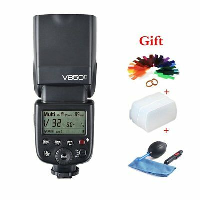 Godox V850II GN60 2.4G 1/8000s High-Speed Sync Camera Flash Speedlite Speedlight