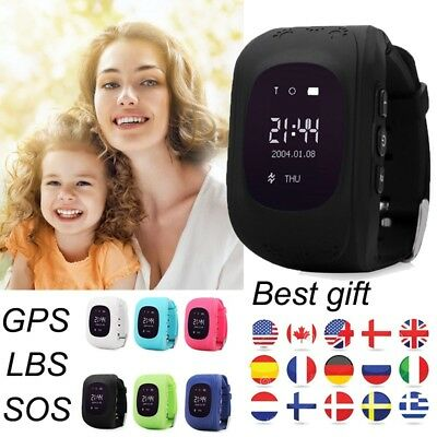2018 : Smart Watch GPS SOS Activity Tracker Phone Watch Anti-Lost For Child Kids