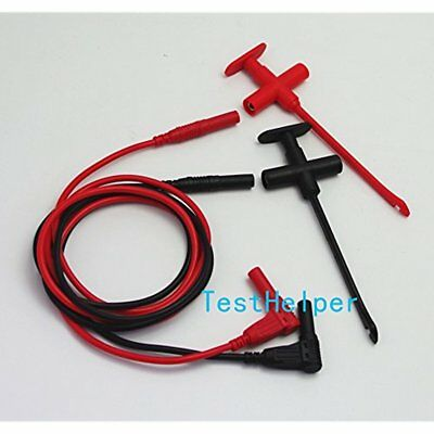 TH-F-2-KIT Test Probes & Leads Insulation Piercing Clip Silicone Set, Hook Jack