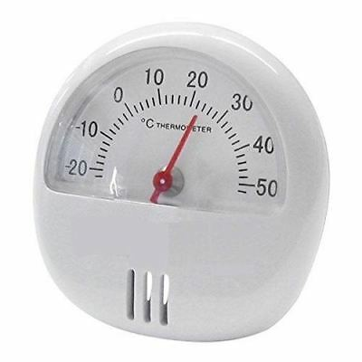 Mini Magnetic Thermometer With Stand For Room Fridge Temperature Gauge Dial Otl