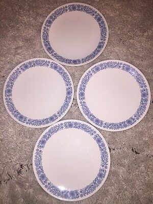 Lot Of 4 Royal Doulton Cranbourne Dinner Plates 10-1/2""