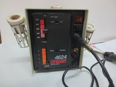 Ungar Solder Rework Station With anti-static Soldering Iron # 9931AS