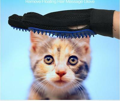 3x Wizard Pet Hair & Lint Fur Remover Cleaner Cloth Fabric Brush +Grooming Glove