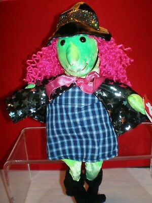 TY Scary Retired Beanie Baby Witch with Errors Mint with Mint Tags