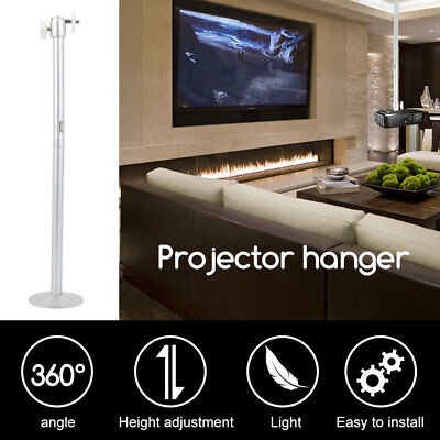 20CM Home Theater Mini Projector with Lengthening Rod Wall Stand Aluminum