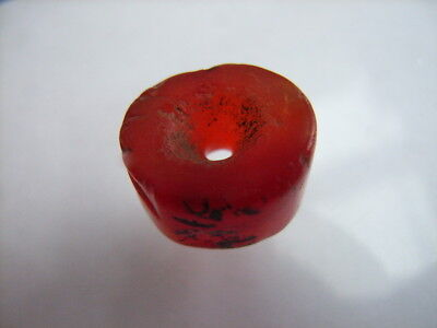 1 Ancient Neolithic Carnelian Bead, Stone Age, VERY RARE!  TOP !