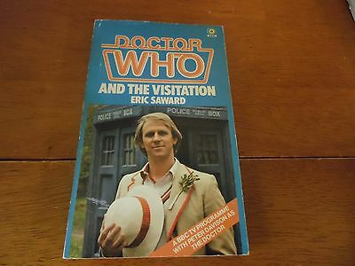 OOP Paperback Book - DOCTOR WHO And The Visitation - Eric Saward - #69