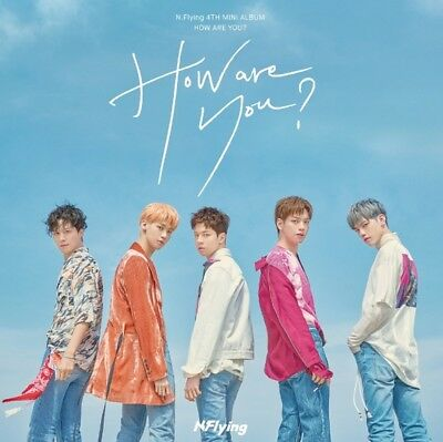 N.Flying 4th Mini Album [HOW ARE YOU?] CD+64p Photobook+Photocard+Diary+Sticker