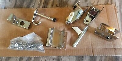 "Restroom Door In-swing Door Lock Hardware Kit for 7/8"" Door 1 1/4"" Post"
