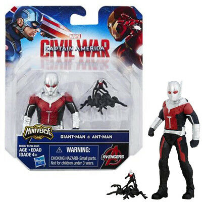 Avengers Captain Capitan America Civil War Minifigure Antman B6930