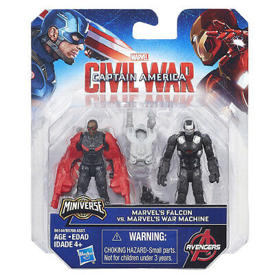Avengers Captain America Civil War Capitan Falcon Vs War Machine Minifigure B614