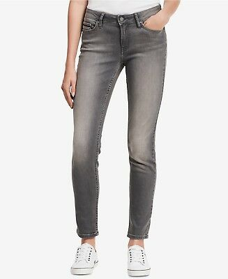 Calvin Klein Women's Ultimate Skinny Jeans, Gray Choose Size NWT