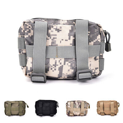 Airsoft Tactical Military Modulars MOLLE Utility Pouch EDC Bags-Waterpro RTT